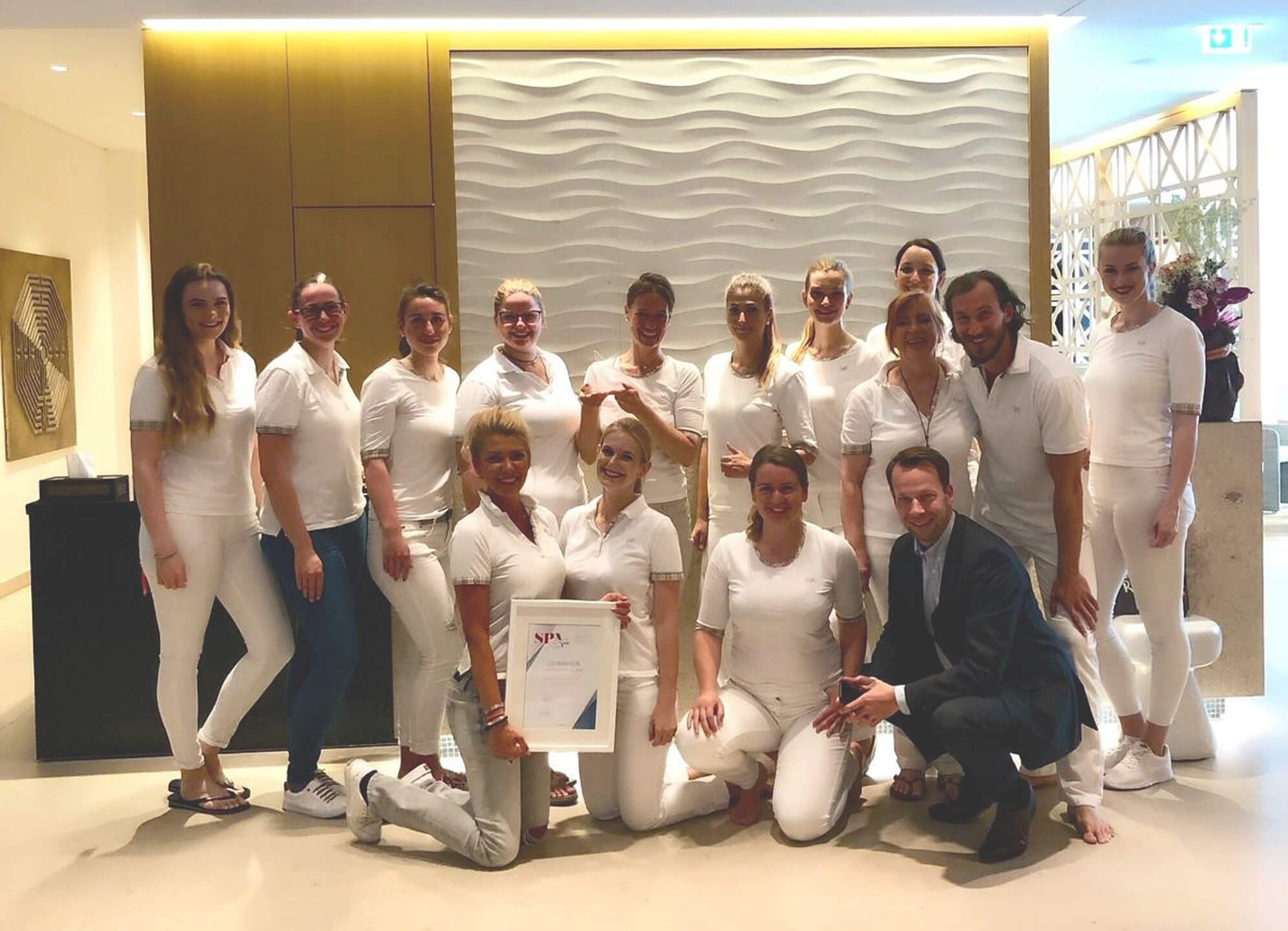 Spa Team des Severin´s Resort & Spa