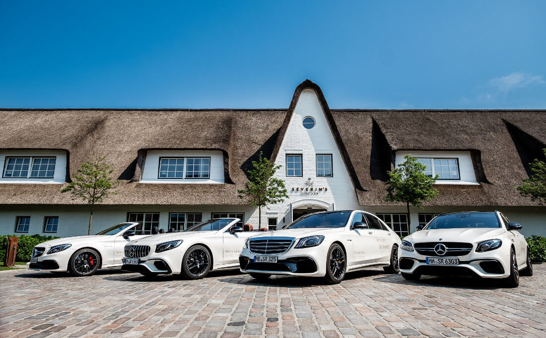 Mercedes AMG Severin*s Resort & Spa 5 Sterne Hotel Sylt