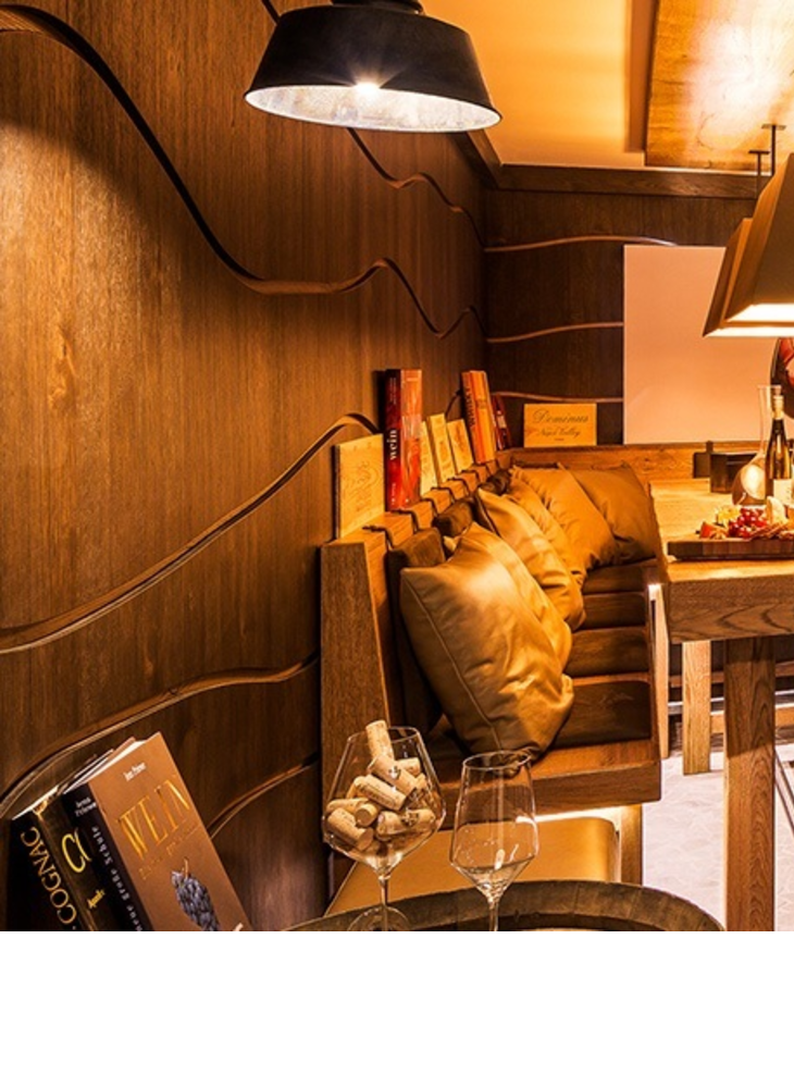 Exclusive wine cellar in the Hotel Severin*s Resort and Spa on Sylt